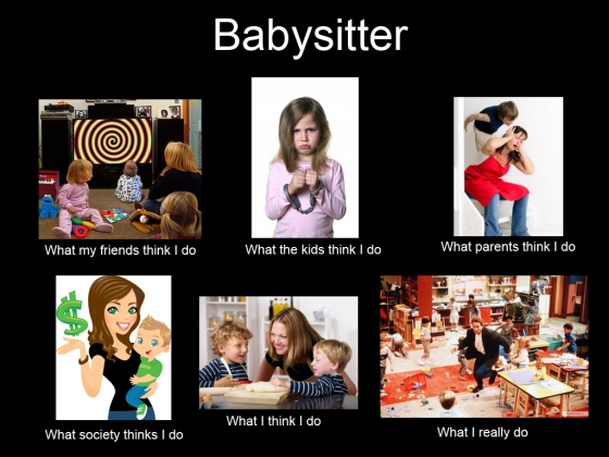 babysitter what i really do